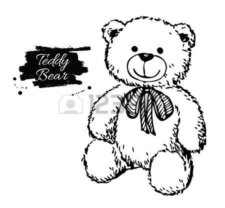 Bear Roaring Drawing