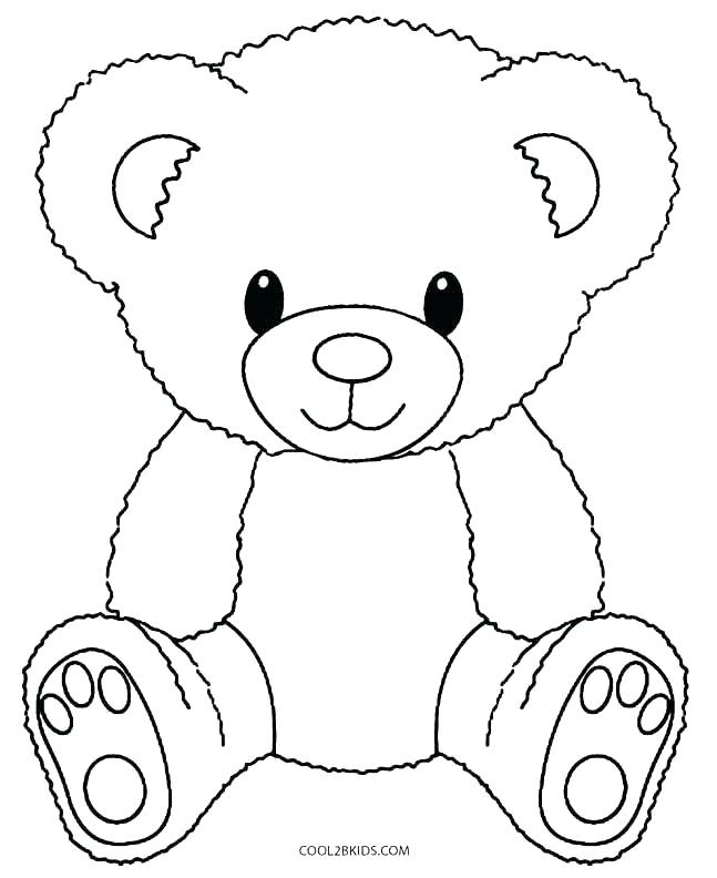 647x792 New Teddy Bear With Heart Coloring Pages Best Of Page A Book G
