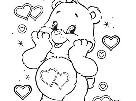 450x334 Story Of Rainbow Heart Bear Care Bears Video Clips Ag Kidzone