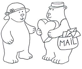 285x241 Valentine Bear In Valentine Graphics