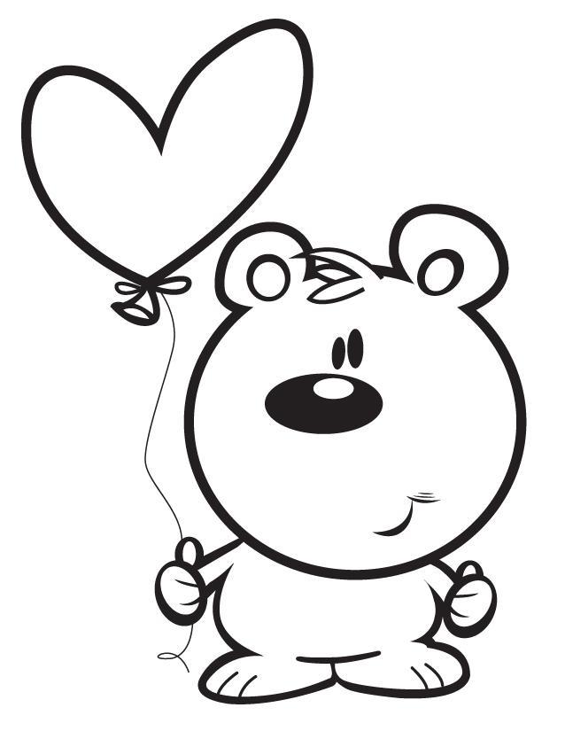 638x825 Bear With Heart