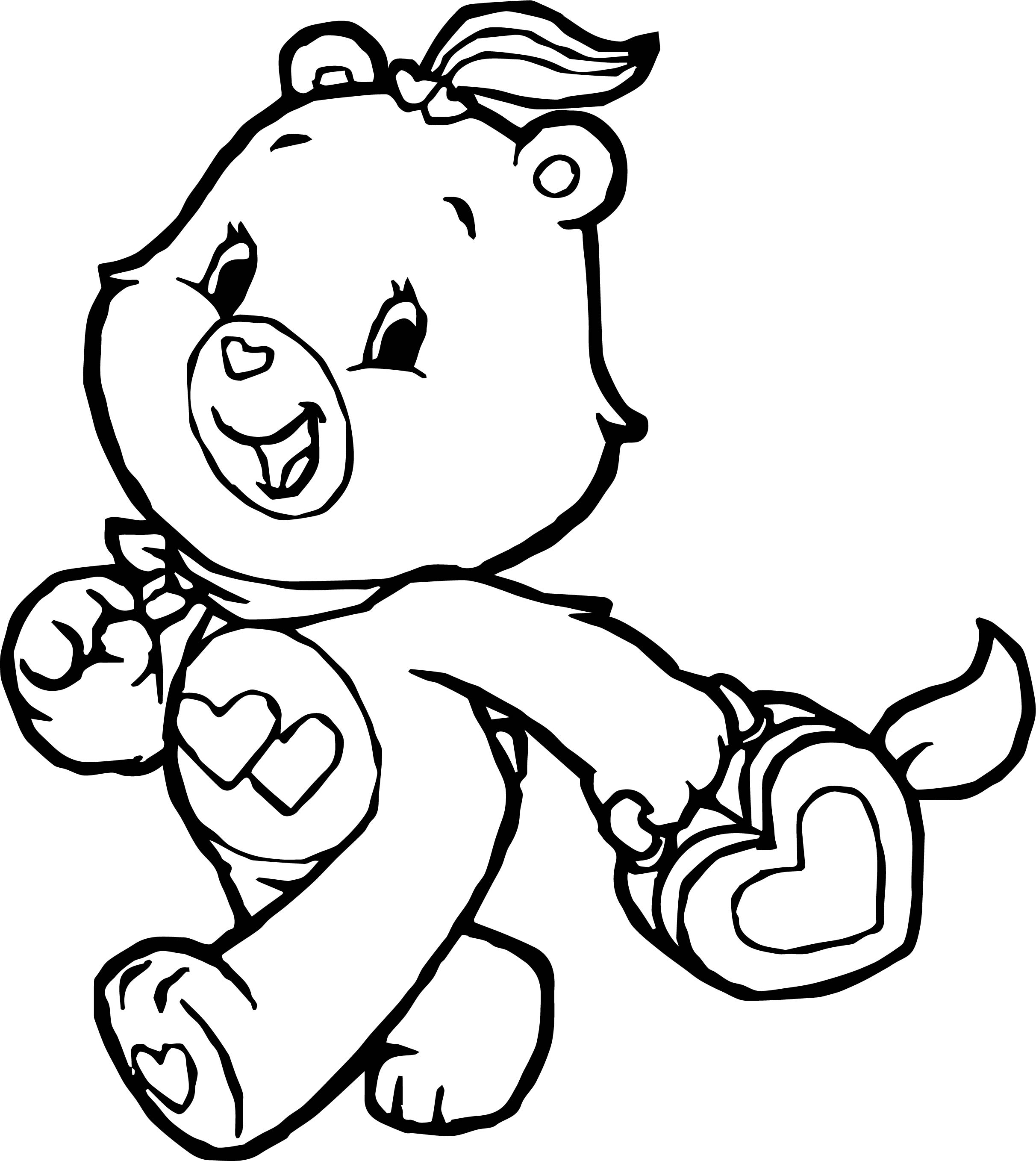 Bear With Heart Drawing at GetDrawings.com | Free for personal use ...
