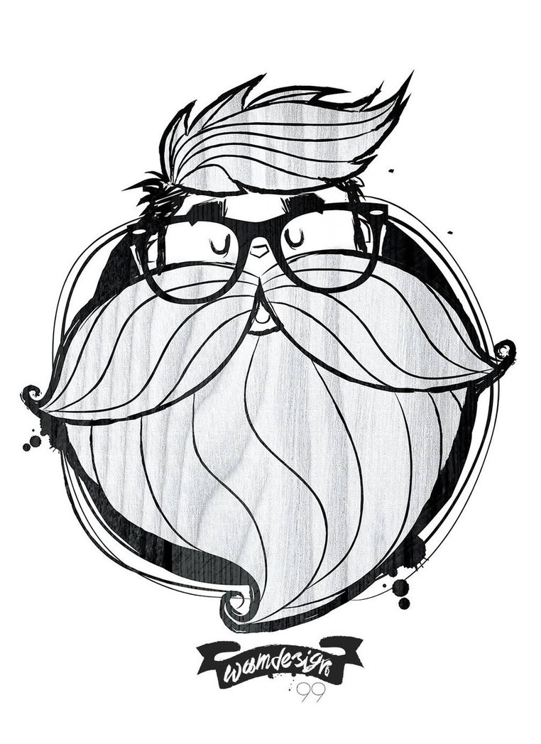 762x1048 So Hipster Beard By Wam099