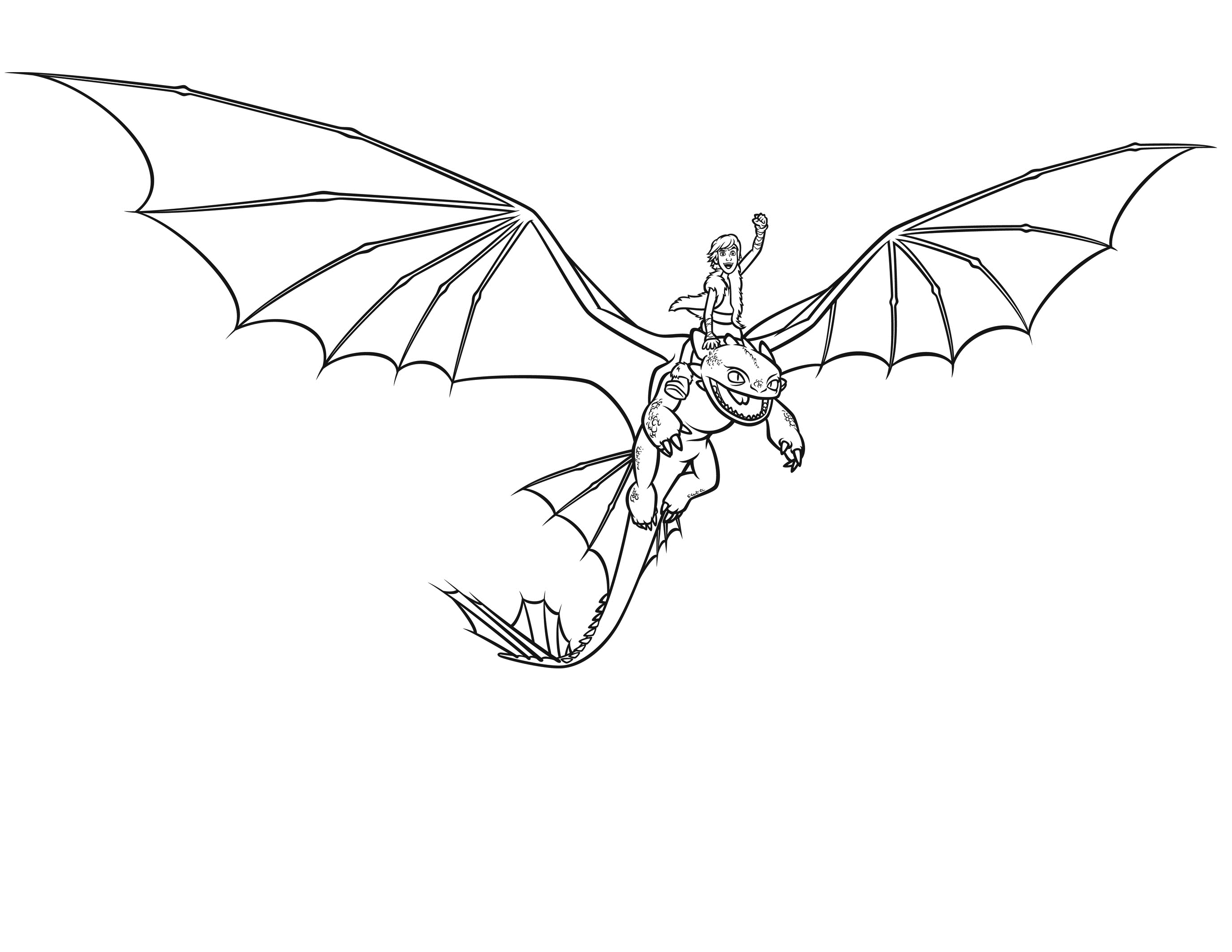 2750x2125 Free Printable Dragon Coloring Pages For Kids