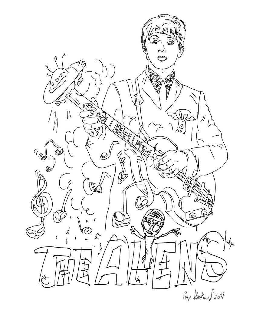 Beatles Drawing at GetDrawings.com | Free for personal use Beatles ...
