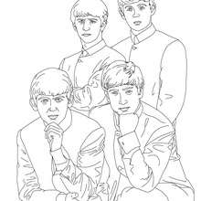 220x220 The Beatles Coloring Pages