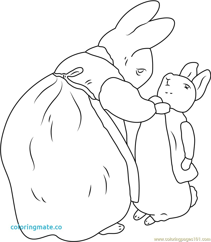 800x918 Peter Rabbit Coloring Pages Lovely Free Beatrix Potter Coloring