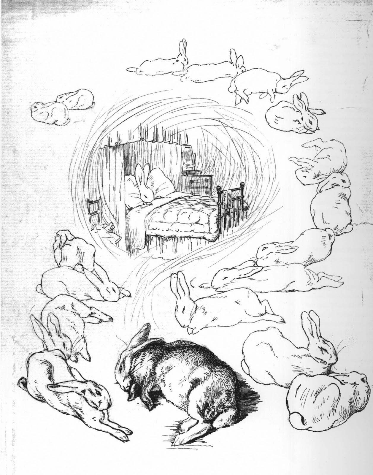 1257x1600 Beatrix Potter's Illustrated Letter Dream