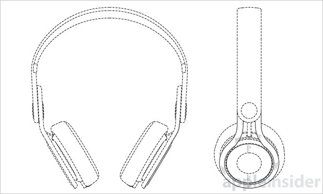 660x396 Apple Assigned Patent For Beats Mixr Headphone Design