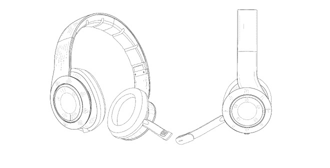 660x336 Apple Wireless Gaming Headset Revealed In Patent
