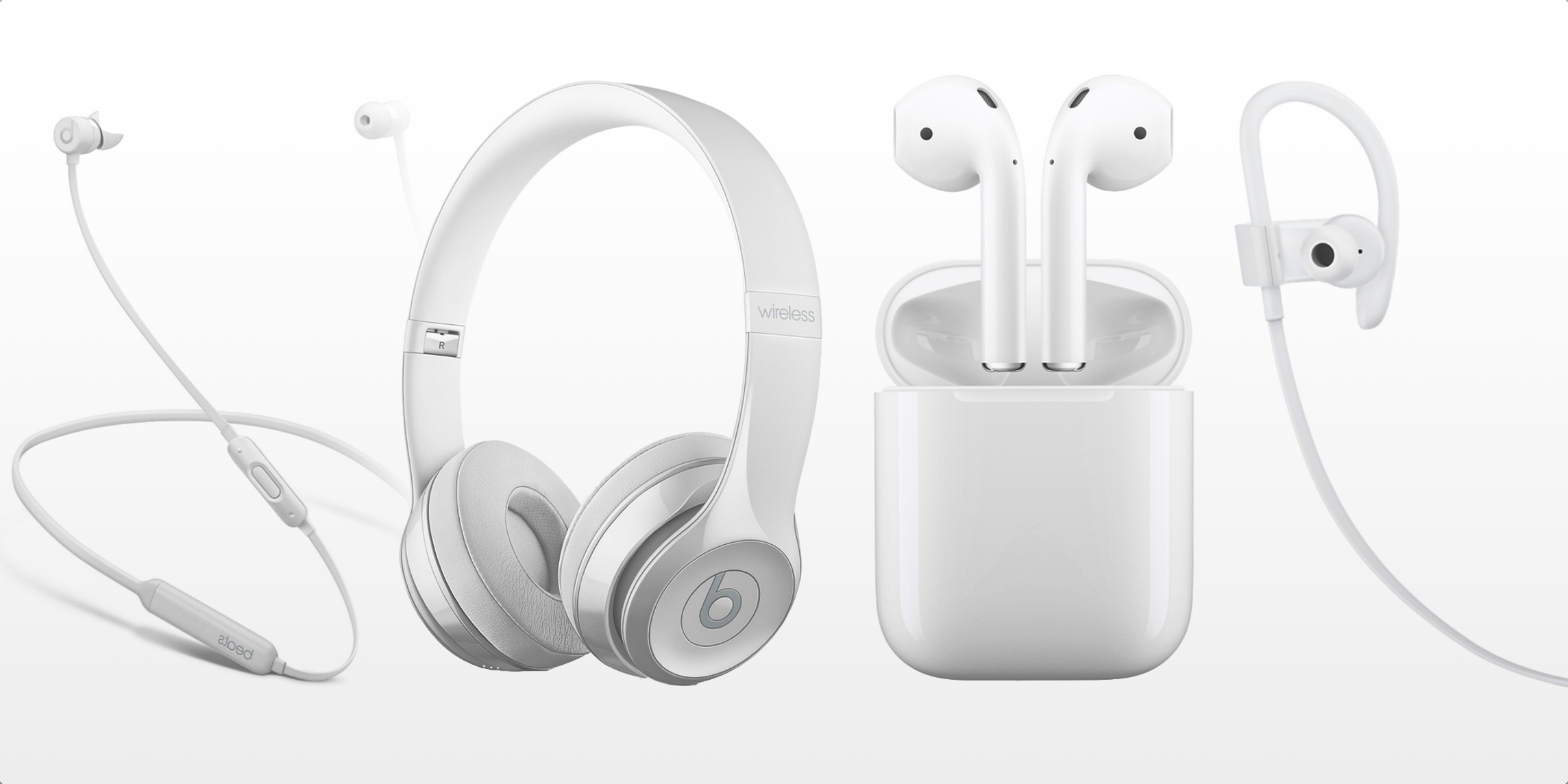 2288x1144 W1 Bluetooth Wireless Headphones Compared Apple Airpods, Beats