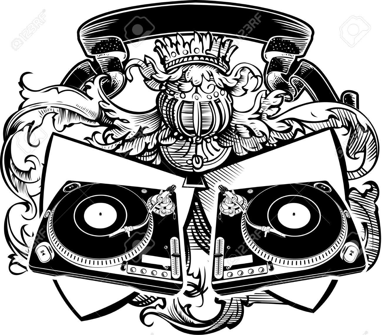 1300x1140 Beats Clipart Dj Turntables