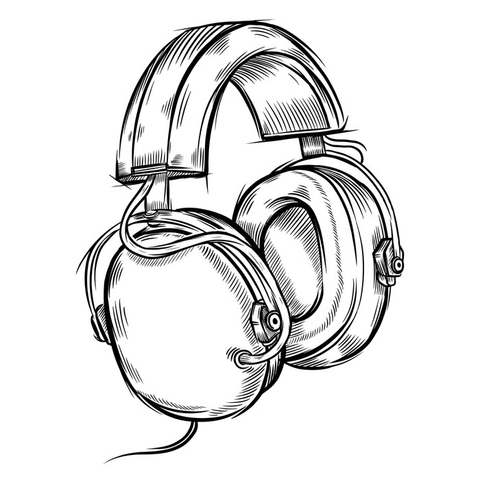 Beats Headphones Drawing At Getdrawings Com