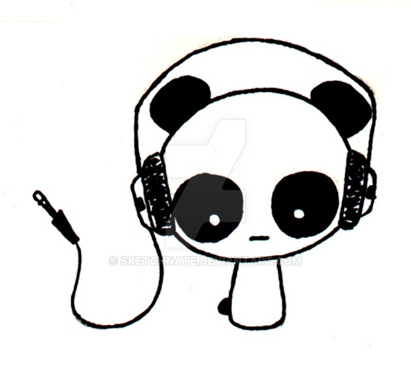 800x715 Pandas Like Headphones V2.0 By Sketchnate