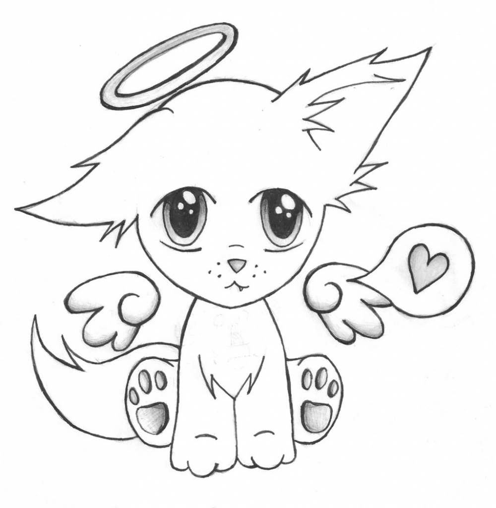 1000x1024 Cute Puppy Drawing Cartoon