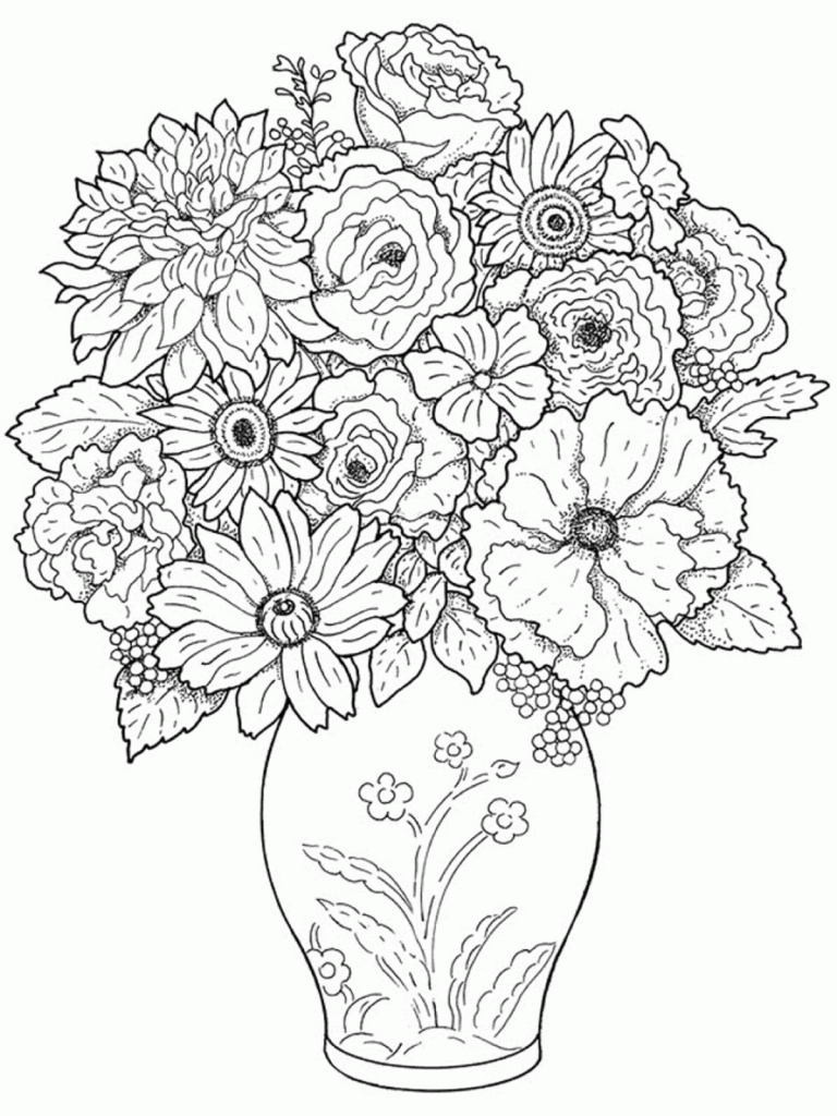 Beautiful Drawing Pictures Of Flowers At Getdrawings Free For