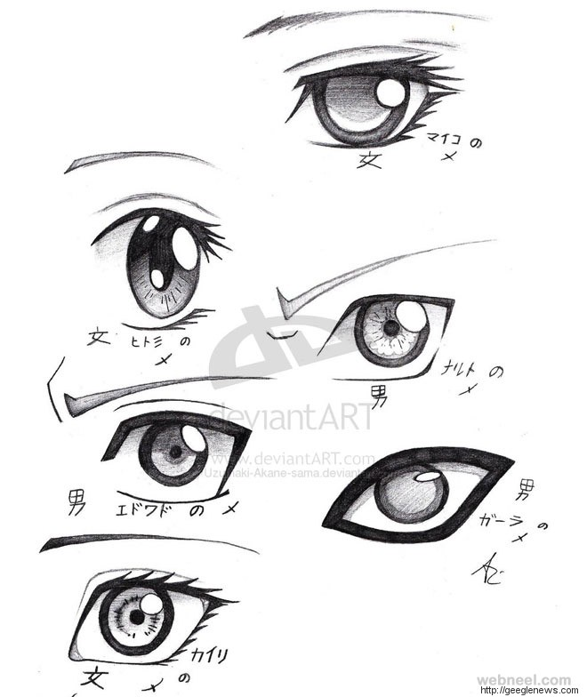 660x784 How To Draw Anime Tutorial With Beautiful Anime Character Drawings
