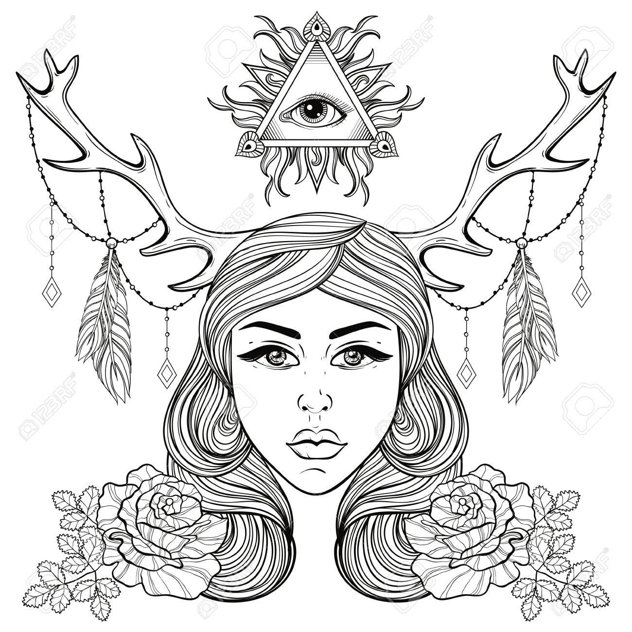 1300x1300 Beautiful Eyes Coloring Pages