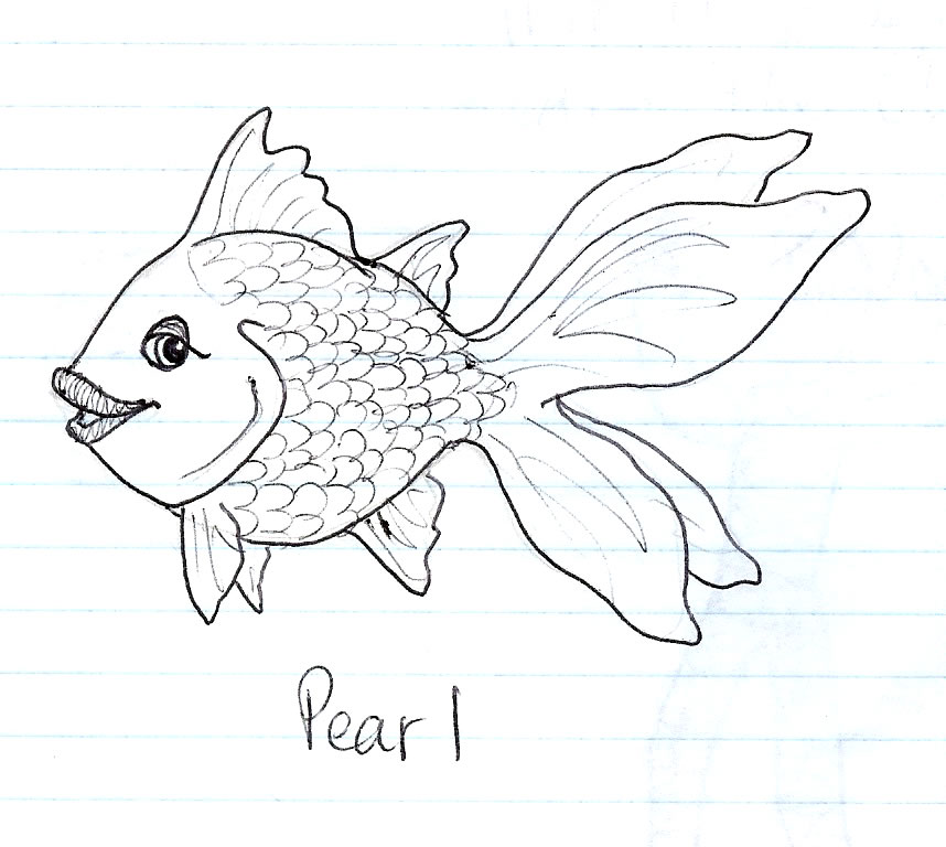 858x768 Old Fish Drawing By Abundant Nature 1111