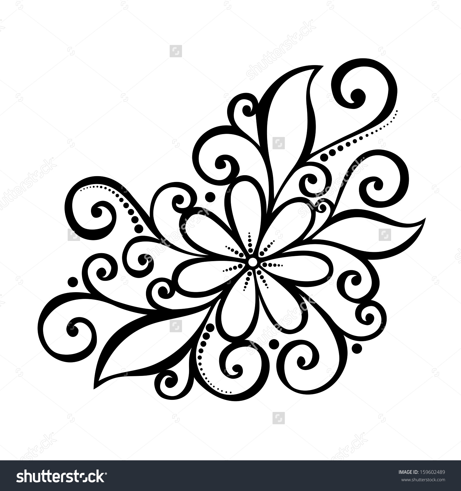 1500x1600 Pretty Flower Pictures To Draw