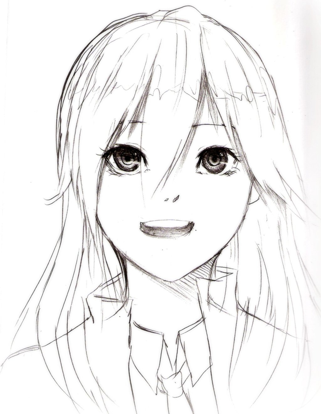 1024x1322 Cartoon Beautiful Girl Sketch Beautiful Anime Girl Face Drawing