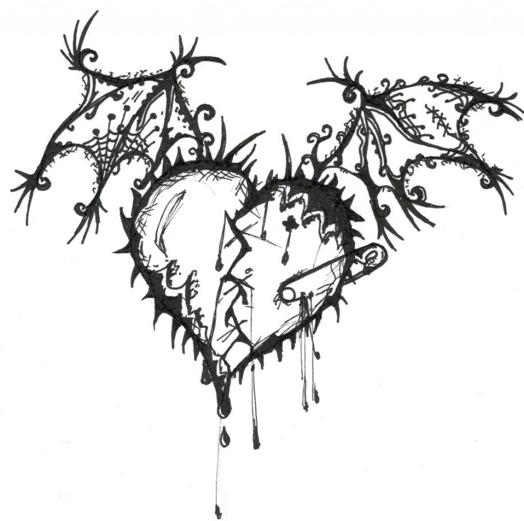 1024x1017 Beautiful Heart Drawing 20 Beautiful Heart Inspirations
