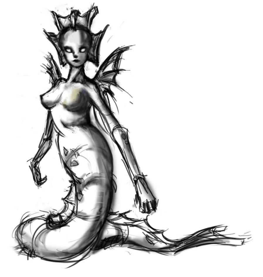 897x945 Sketchbook 5 Beautiful Mermaids