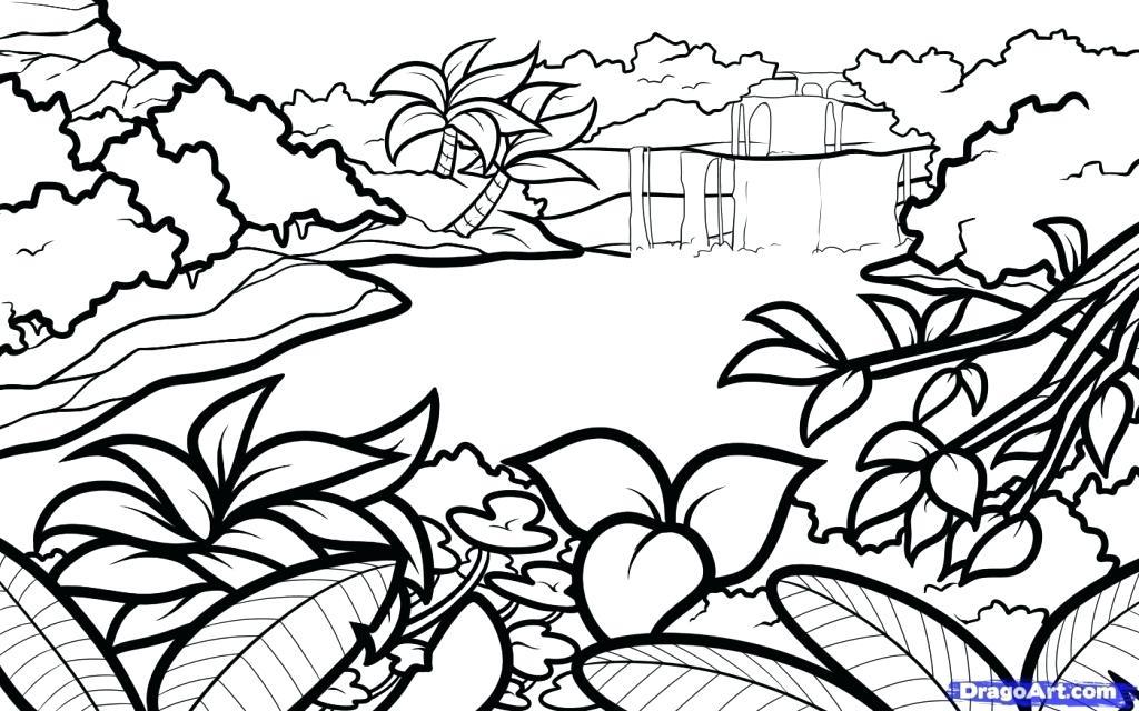 1024x640 How To Draw A Pretty Landscape Flyingangels.club