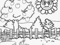 200x150 Scenery Coloring Pages Inspirational Draw With Nature Scenery