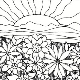 268x268 Coloring Pages Sunset Tags Sunset Coloring Pages Batman Online