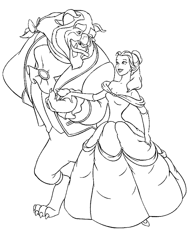 642x789 The Beauty And The Beast