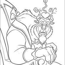 220x220 Beauty And The Beast Coloring Pages, Drawing For Kids, Free