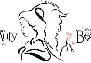 300x210 Beauty And The Beast Rose Drawing How To Draw The Rose From Beauty