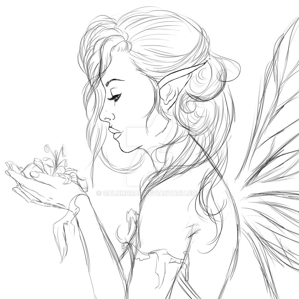 1024x1024 Drawing Photo Of Natural Beauty Pic Sketch Natural Beautycalumbrae