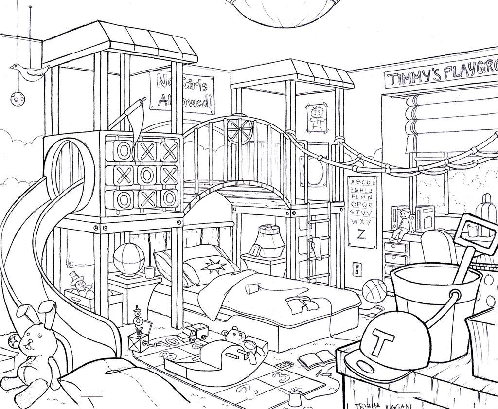 1024x841 How To Draw Kid Bedroom The Bedroom My Bedroom And Kid Bedroom