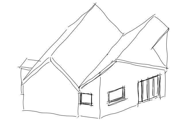 637x457 Cottage Extension