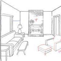 200x200 Drawing Of Bedroom