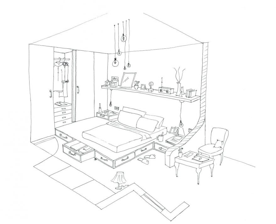 878x713 4 Bedroom House Plans 13 Inspiring Coloring Pages Furniture