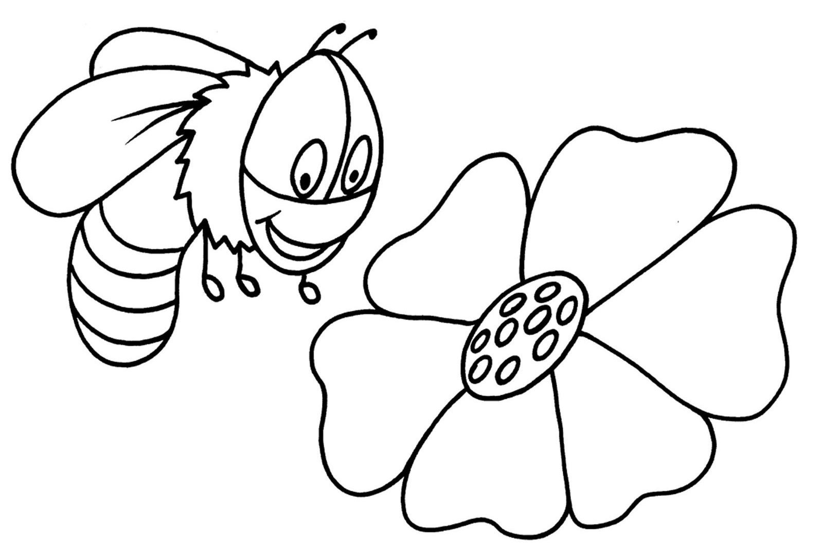 1600x1080 Drawn Bumble Bee Movie Page Pencil Printable Coloring Pages Free
