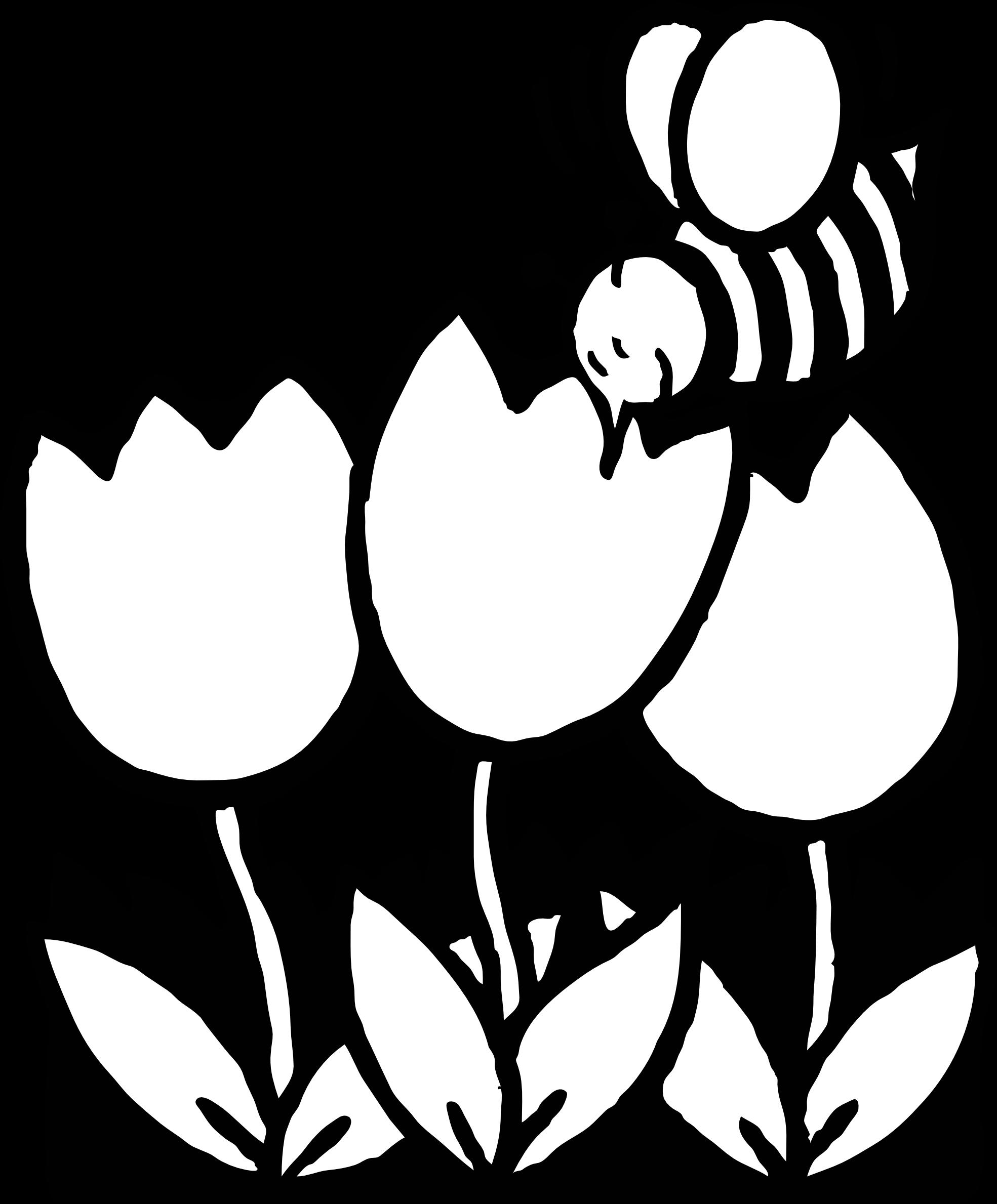 1969x2379 Bee Black Cliparts