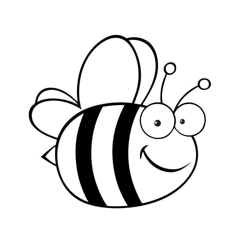 850x850 Bee Line Art