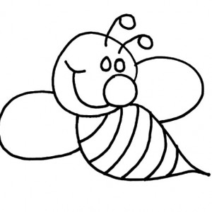300x300 Bumble Bee And Flower Coloring Pages Best Place To Color