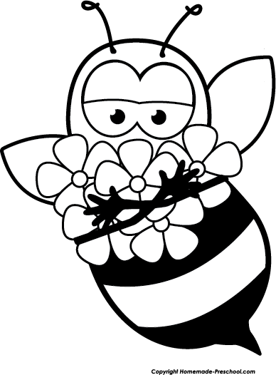 388x526 Free Bee Clipart