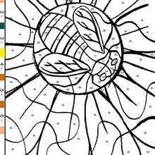 220x220 Bee And Flower Coloring Pages