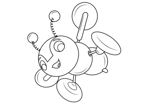 480x358 Buzzy Bee Coloring Page Free Printable Coloring Pages