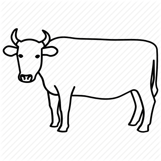 512x512 Beef, Bull, Cow, Dairy, Farm, Ox, Steer Icon Icon Search Engine