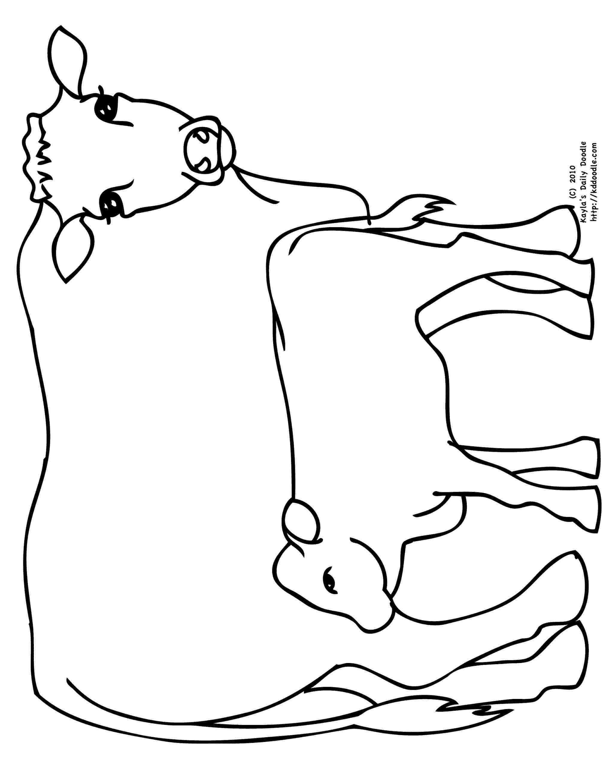 2014x2607 Coloring Pages Of Longhorn Cattle