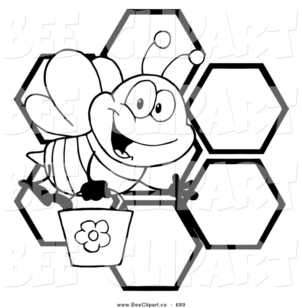 1024x1044 Beehive Drawing Black And White