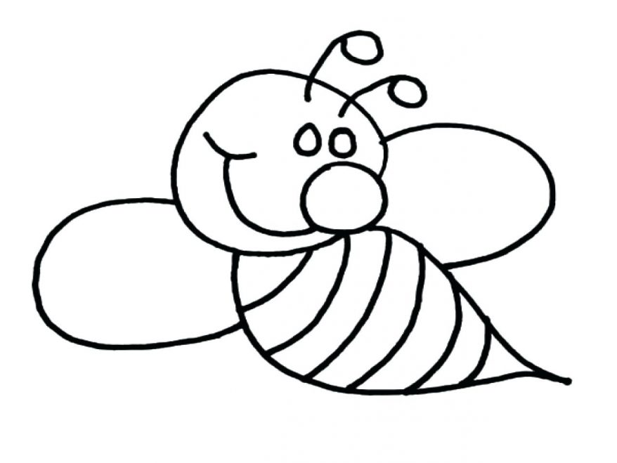878x659 Bumble Bee Coloring Page Sheets Draw 117 Captivating Pages Of Bees