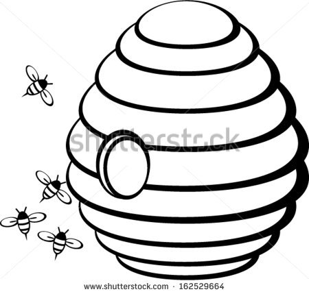 450x429 Honey Bee Clipart Black And White 101 Clip Art